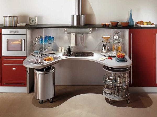 функциональный кухонный гарнитур