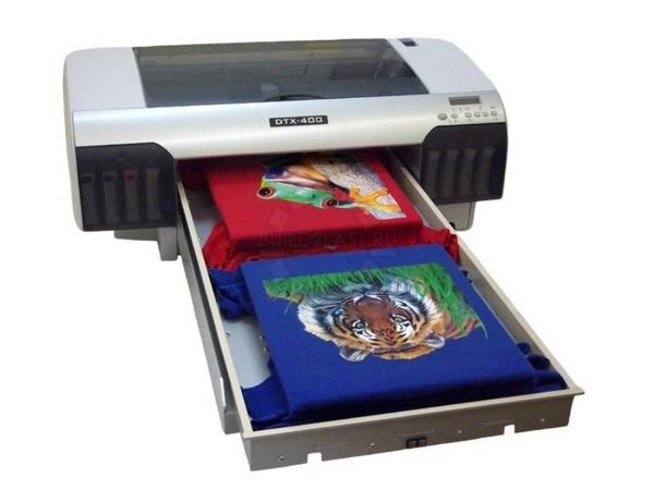 печать рисунков на ткани