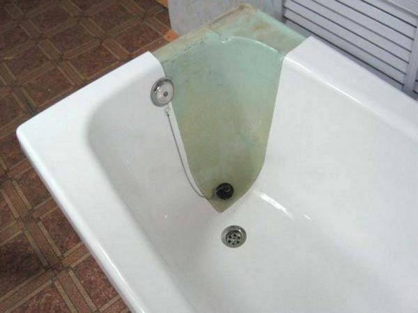 реставрация ванной акрилом