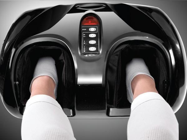 массажер для ног электрический