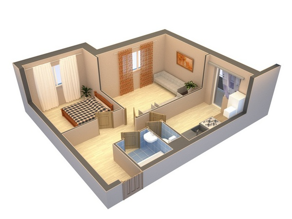 Ремонт двухкомнатной квартиры 44 45 кв м в панельном доме