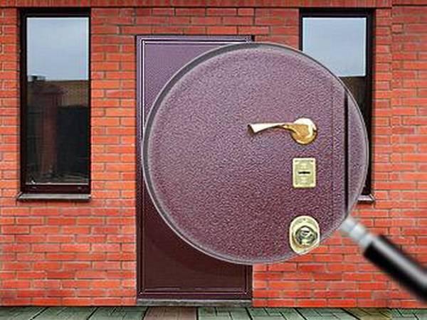 порошковое покрытие входной двери