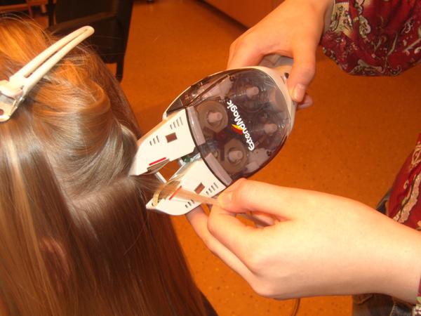 наращивание волос, капсульное наращивание волос